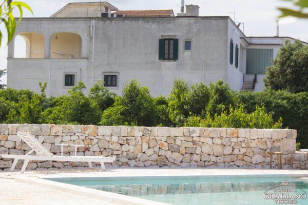 Masseria Guadiano Vecchio - Piscina - www.masseriaguadiano.com - Monopoli (BA) - Puglia - Italy
